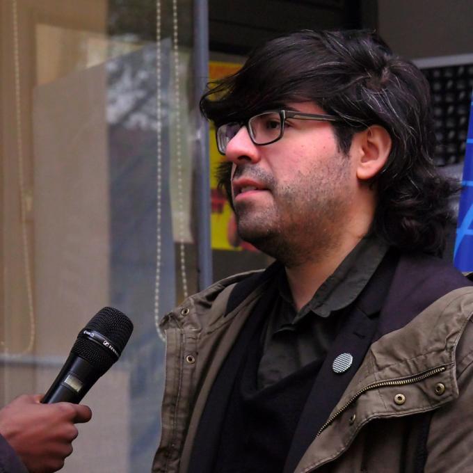 Fabian Saavedra-Lara / Interkultur Ruhr gibt Einblick in die Tätigkeiten eines Kurators
