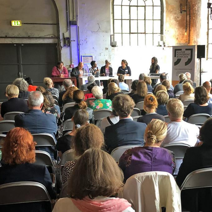 7. KULTURKONFERENZ RUHR: Kulturorte für eine Metropole der Vielfalt?, Duisburg 2018. Foto: Guido Meincke