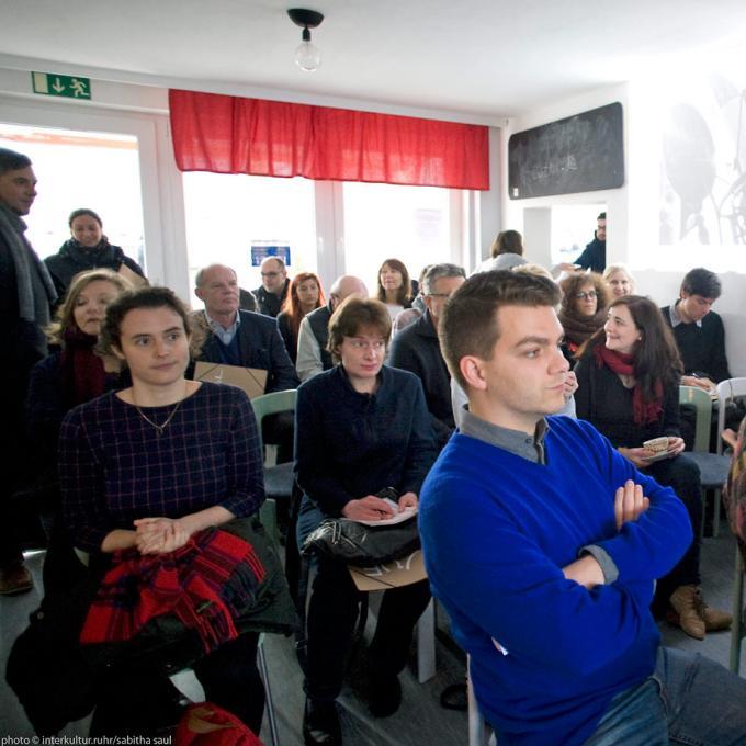 Gäste im HUkultur Quartiersbüro
