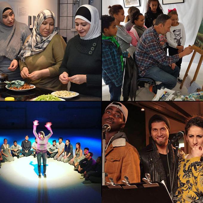 Kunst- und Kulturprojekte von und mit Geflüchteten: Förderfonds Interkultur Ruhr 2017