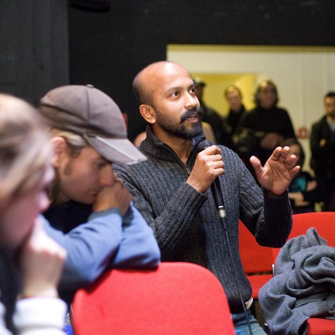 Publikumsdiskussion beim 5. Netzwerktreffen Interkultur Ruhr