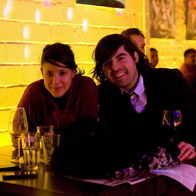 Avril Ceballos (CÓMEME) und Fabian Saavedra-Lara (Interkultur Ruhr)
