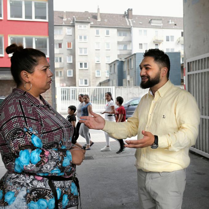 Silvana Gashi und Myuslyum Asan, Romano Drom, Hagen