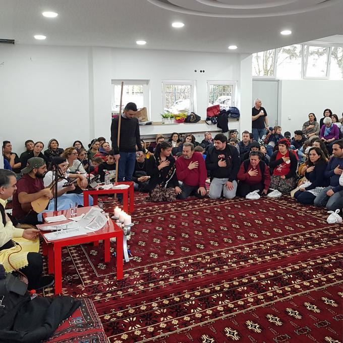 Hızır-Cem bei der Alevitischen Gemeinde Essen