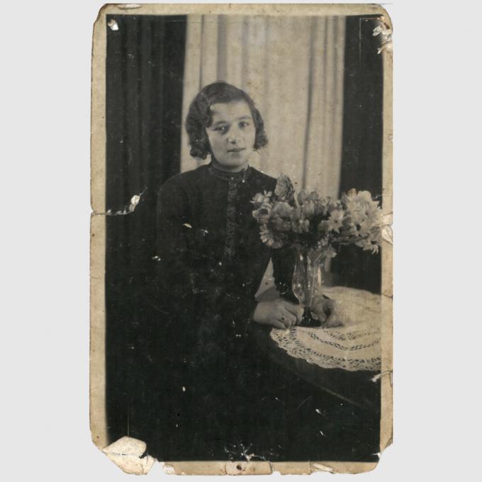Christine Lehmann, um 1938