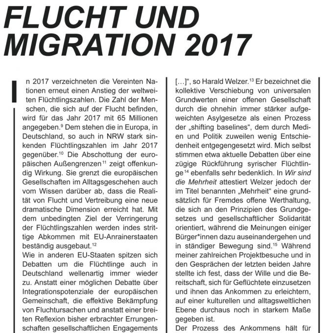 Dokumentation Förderfonds Interkultur Ruhr 2017