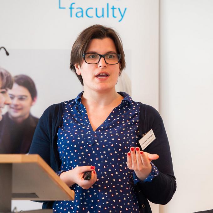 Evangelia Kindinger, Global Young Faculty,. Foto: Simon Bierwald.