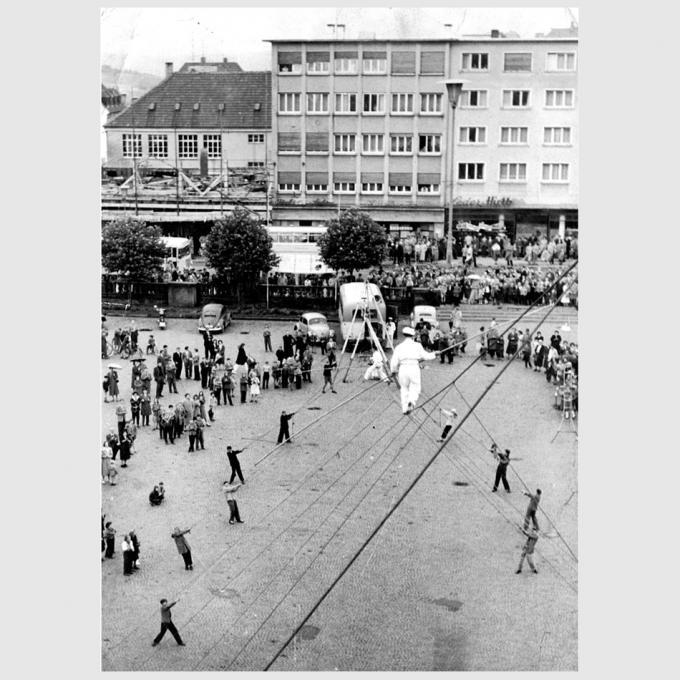 Hochseilgruppe Lagrin Pirmasens 1948