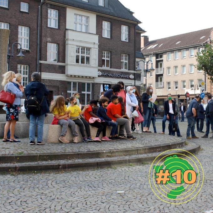 """""""Flagge zeigen"""" in Bottrop. Foto: Olga Felker"""