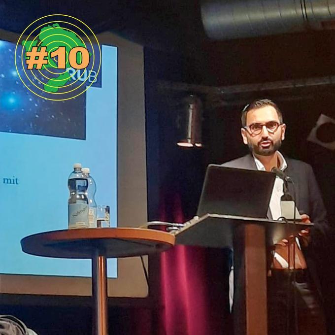 Prof. Dr. Karim Fereidooni, Vortrag in Hagen