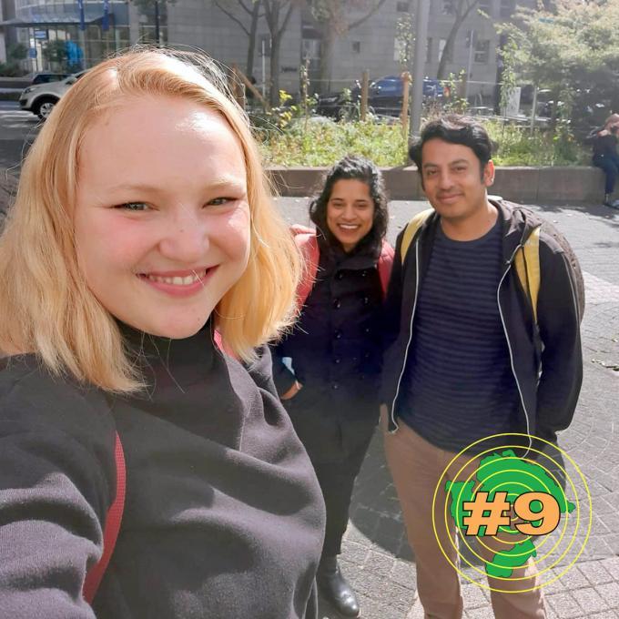 Olga Felker, Megha Kono-Patel und Alexis Rodríguez Suárez