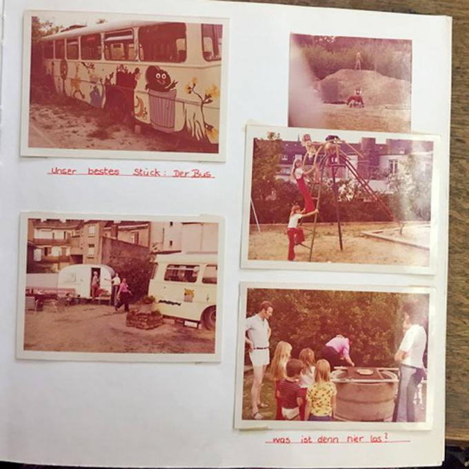 Fotoalbum der Familie Becker