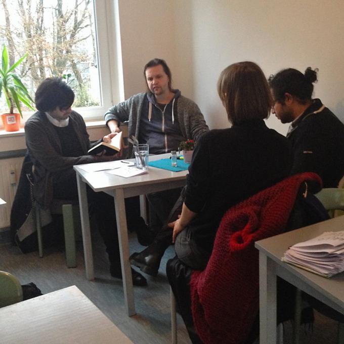 Fabian Saavedra-Lara im Gespräch mit Anna Hentschel und Sebastian Quack