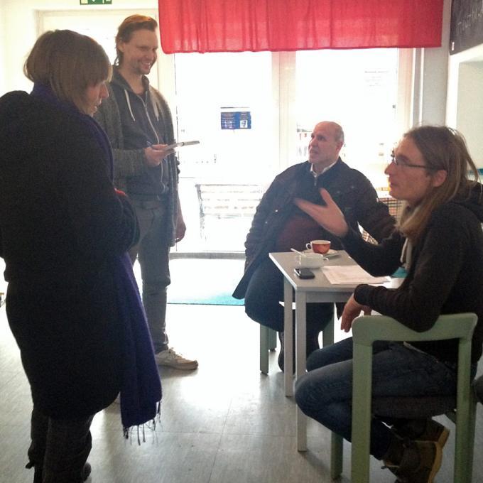 Anna Hentschel und Sebastian Quack im Gespräch mit Matthias Köllmann
