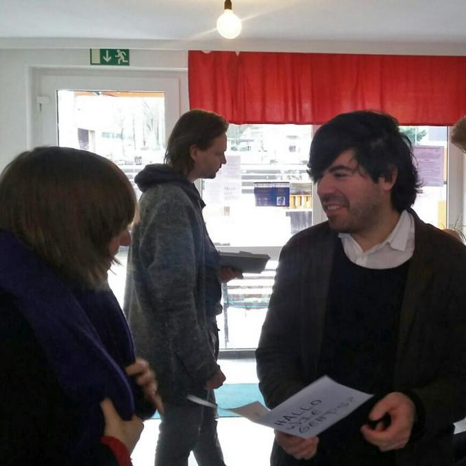Anna Hentschel, Sebastian Quack und Fabian Saavedra-Lara bei HUkultur