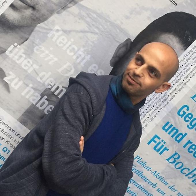 Issam Al-Najm / Neu in Deutschland