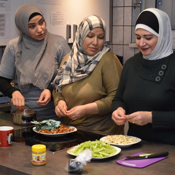 Julius-Leber-Haus: Syrisches Kochbuch