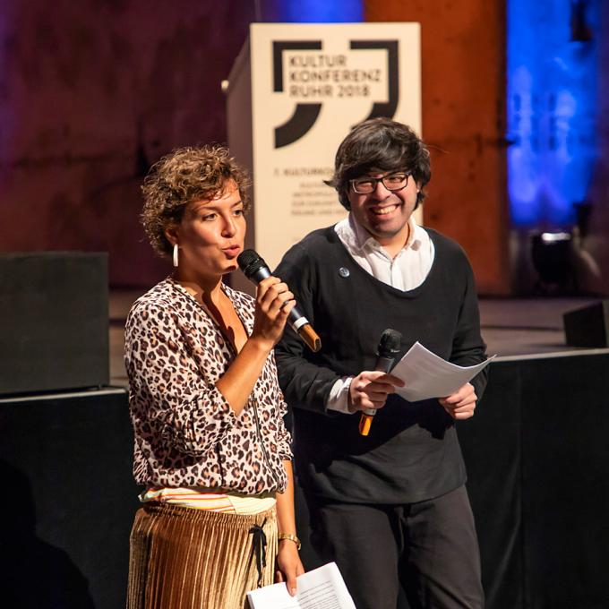 Johanna-Yasirra Kluhs und Fabian Saavedra-Lara / Interkultur Ruhr