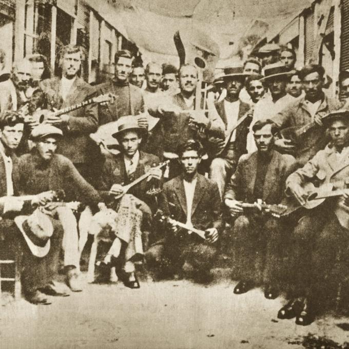 Rebetes 1933 in Karaiskaki, Piräus