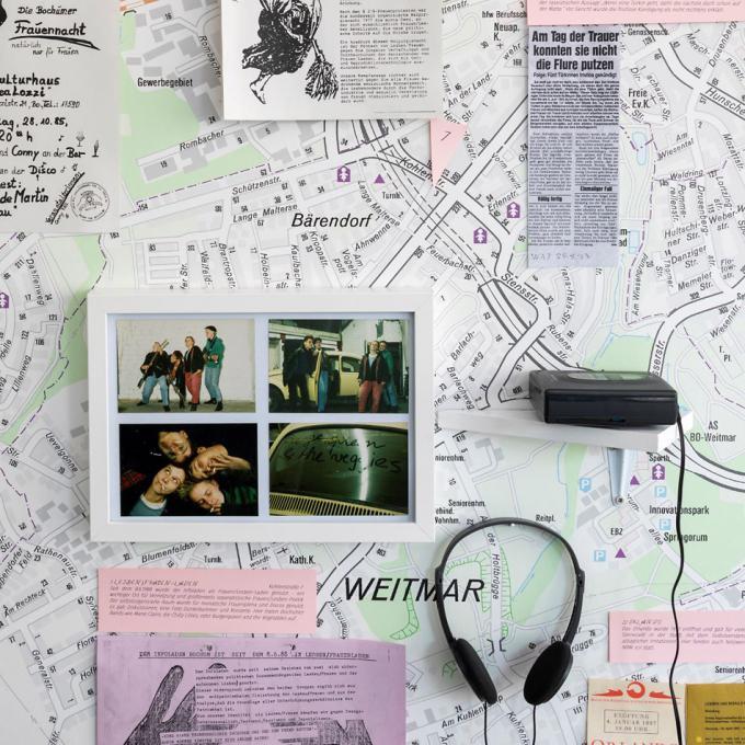 """Ausstellung """"Emanzenexpress - Gemeinsam sind wir gemeiner"""", atelier automatique, 2019"""