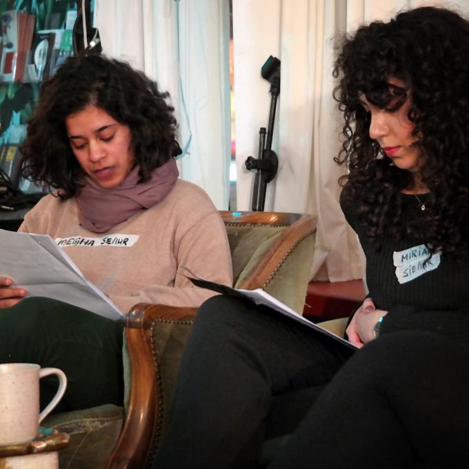 Megha Kono-Patel und Miriam Yosef / Moderation