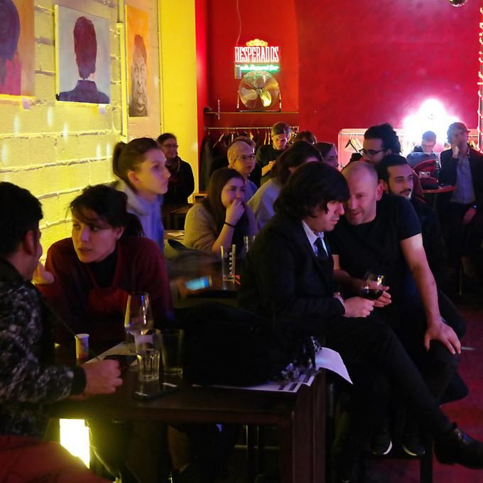 """Netzwerktreffen Interkultur Ruhr zum Thema """"Weltmusik 2.0 – Gespräche zu Folklore, Weltmusik und Global Pop"""", 23.11.2017, Katakomben-Theater, Essen"""
