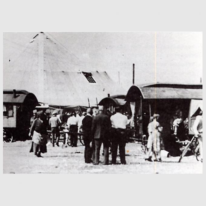 Zirkus Schickler in Crange, 1926