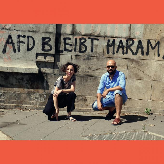 Tunay Önder und Imad Mustafa