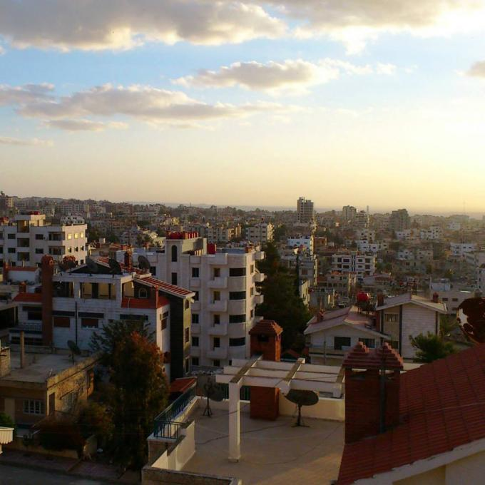 View over the city of al Suwayda