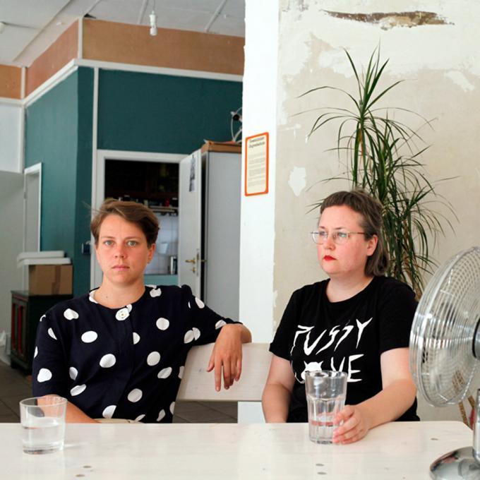 Eva Busch und Julia Nitschke im atelier automatique, Bochum