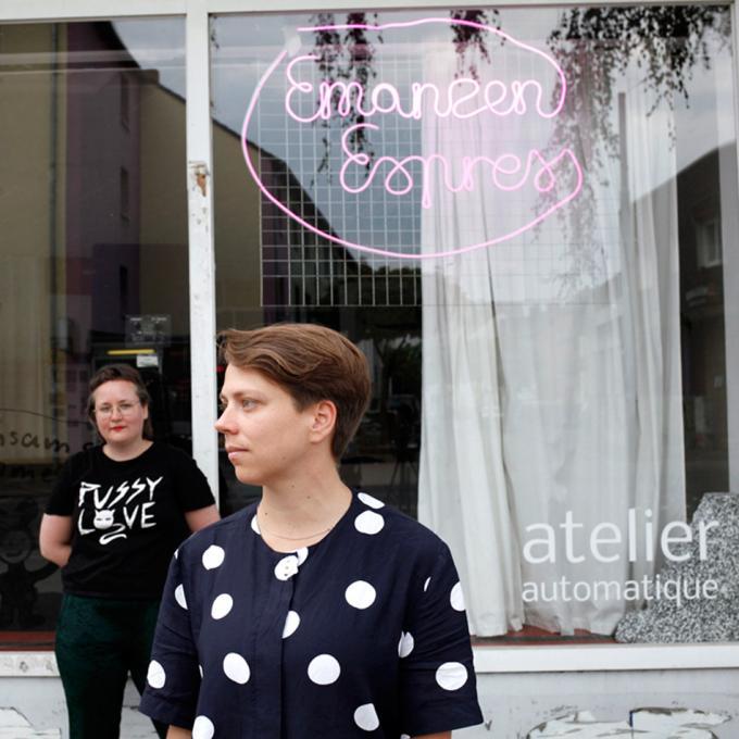 Julia Nitschke und Eva Busch im atelier automatique, Bochum