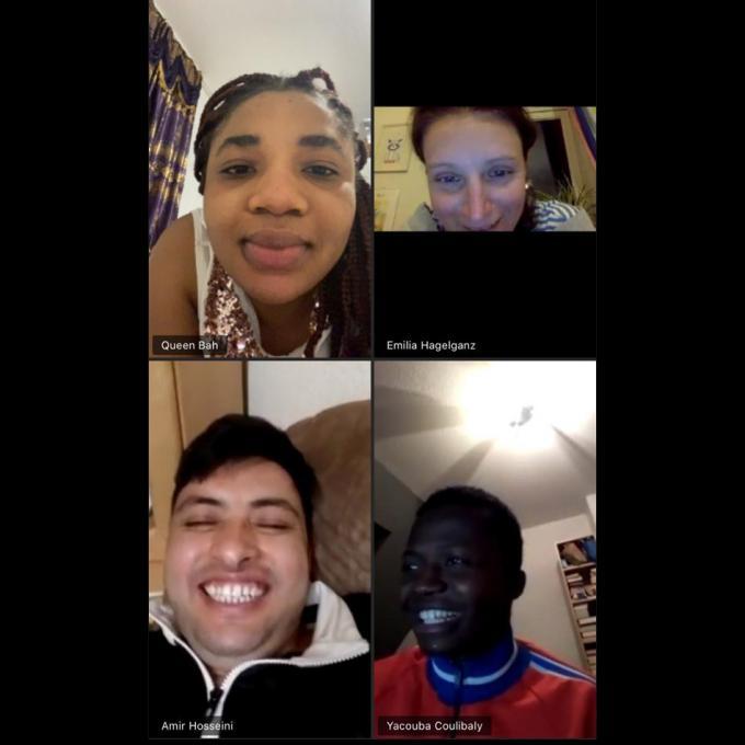 Online Probe des Transnationalen Ensemble Labsa