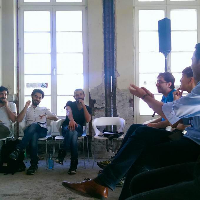 Beyond Protest. Refugee Strike Bochum beim Co-Creation-Forum MIT am 07.09.2016 bei kitev in Oberhausen