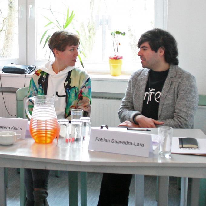 Johanna-Yasirra Kluhs und Fabian Saavedra-Lara