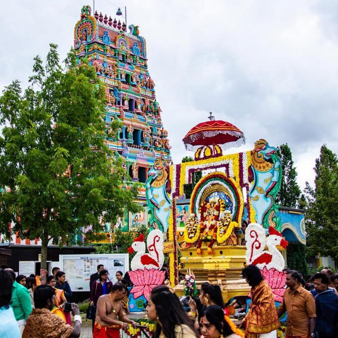 Haupttempelfest im Sri-Kamadchi-Ampal-Tempel, Hamm