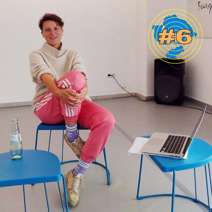 Emilia Hagelganz im Interview. Foto: Olga Felker