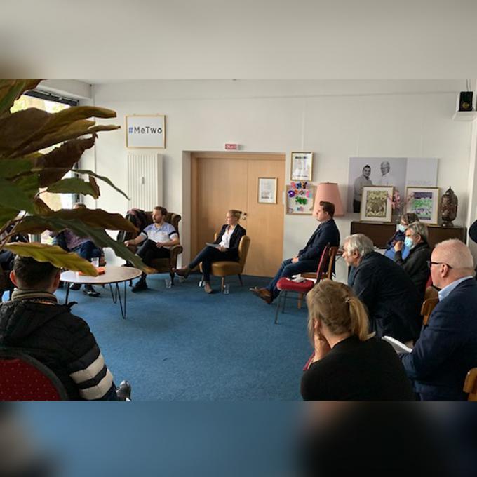 Podiumsdiskussion im VielRespektZentrum Essen: Homosexualität – (k)ein Thema im Judentum, Christentum und im Islam? Foto: Tuncer Kalayci