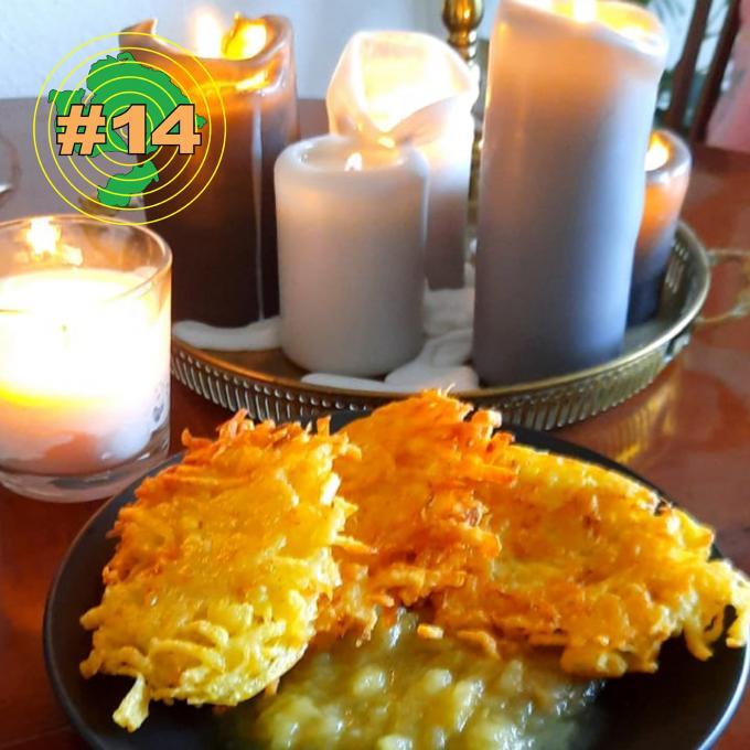 Ein traditionelles Gericht zu Chanukka: Latkes. Foto: Olga Felker