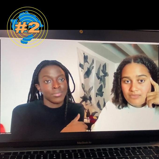Princela Biyaa und Marny Garcia Mommertz im Interview. Foto: Marny Garcia Mommertz