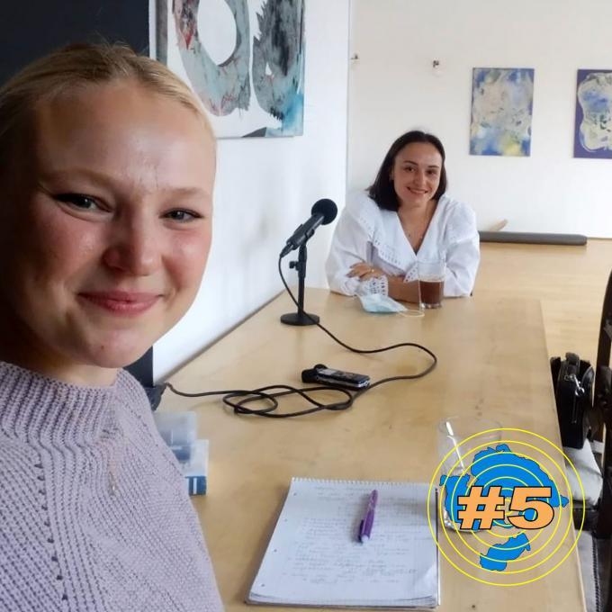 Olga Felker und Valentina Samsonow. Foto: Olga Felker
