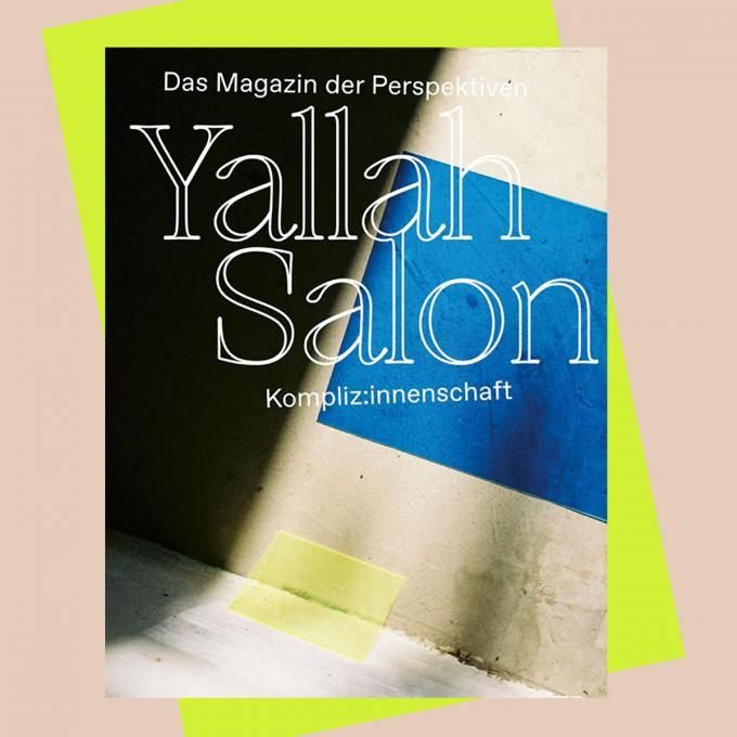 YallahSalon! Das Magazin der Perspektiven. Foto: Salon der Perspektiven