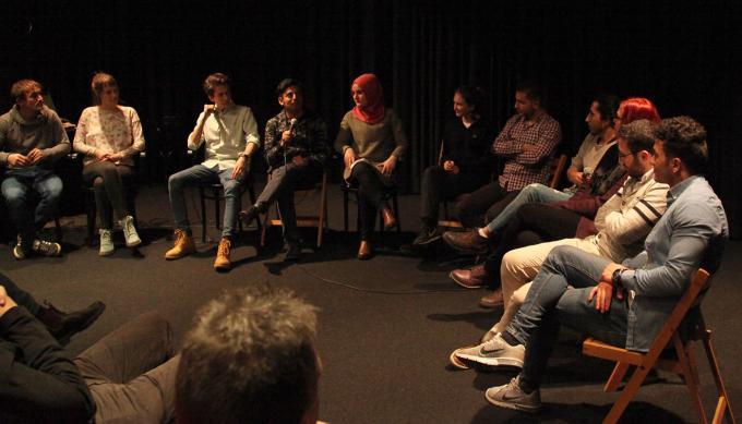 Filmbesprechung im endstation.club, Bochum