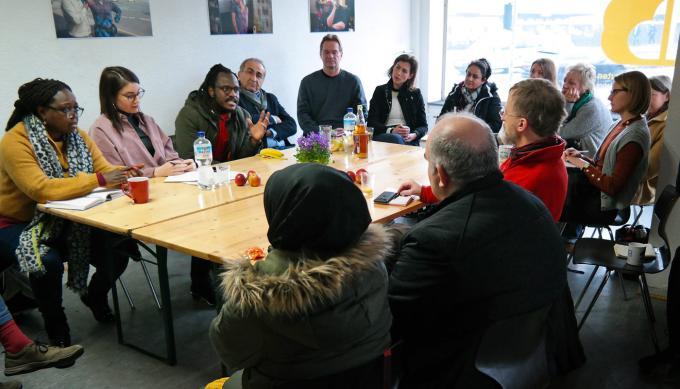 Netzwerktreffen Interkultur Ruhr, Oberhausen 2020. Foto: Guido Meincke