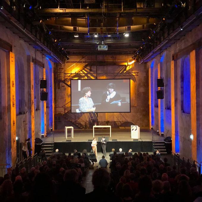 Begrüßung von Johanna-Yasirra Kluhs und Fabian Saavedra-Lara / Interkultur Ruhr