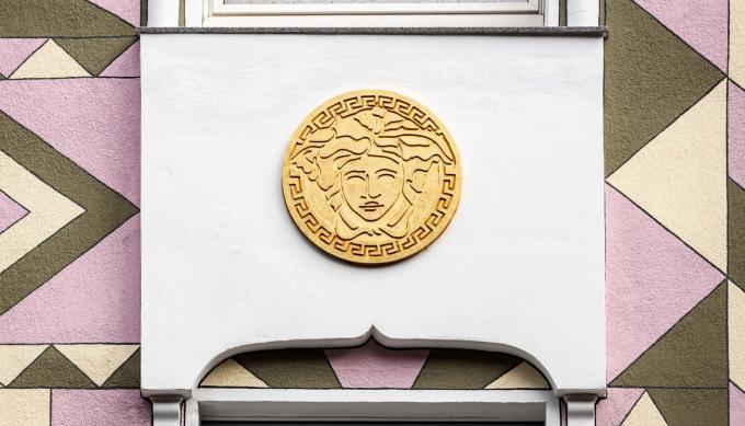 Hausfassade in der Schleswiger Straße, Detail. Foto: Christian Huhn