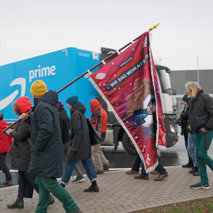 Ortserkundung im Dortmunder Logistikpark Westfalenhütte. Foto: Guido Meincke