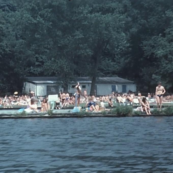"""""""Tour de Ruhr"""", Film von F. Meyer, Super8, digitalisiert. Foto: Archiv für Familien- und Amateurfilm des Ruhrgebiets / Interkultur Ruhr"""