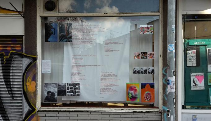 YallahAusstellung, atelier automatique. Foto: Eva Busch