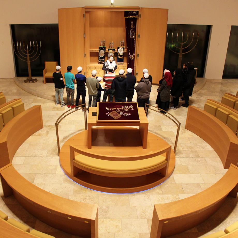 Besuch der Synagoge, Bochum