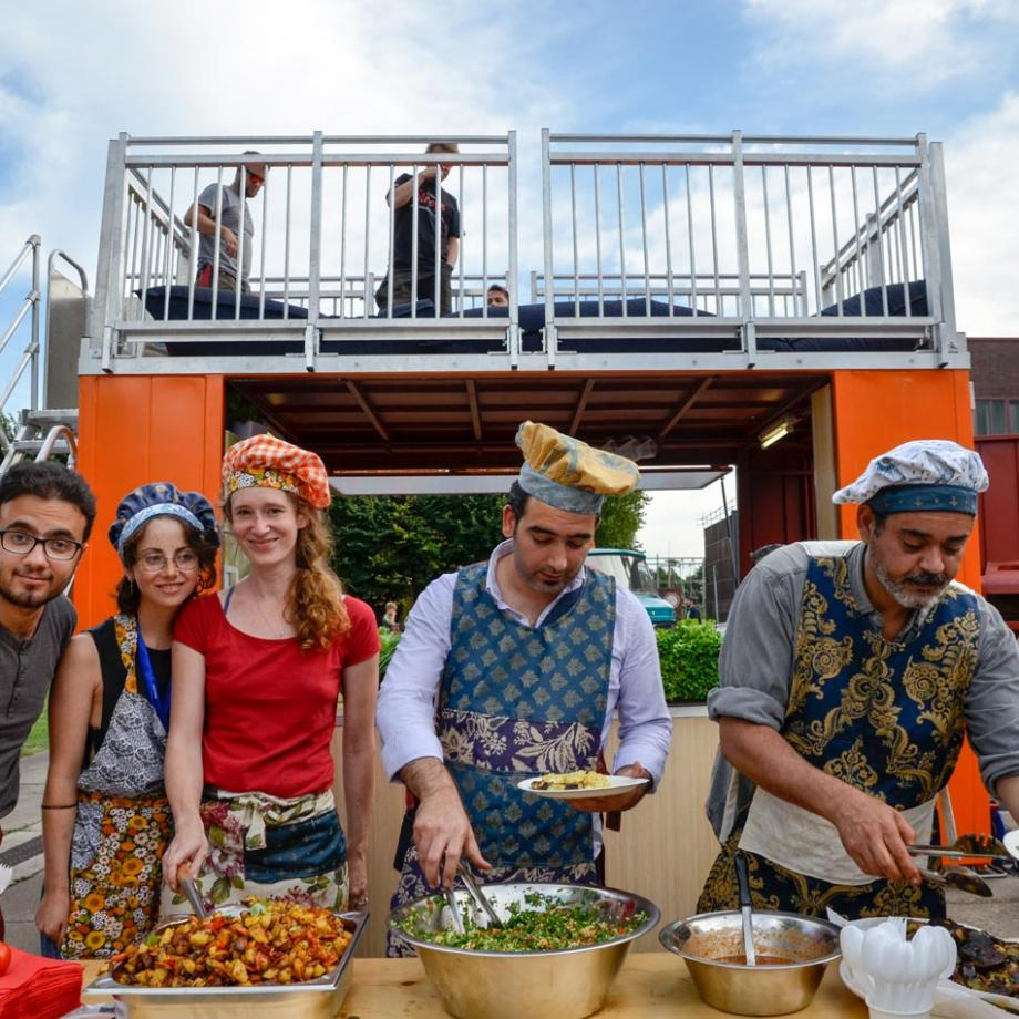 Refugees' Kitchen auf Zollverein 2016